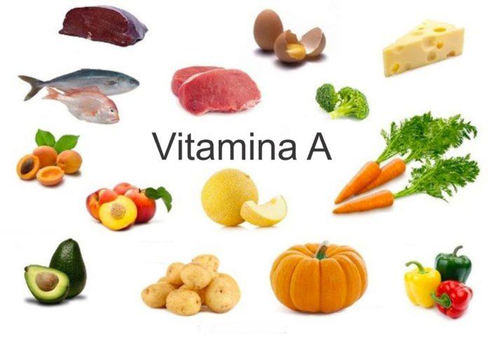 vitamina a- alimente