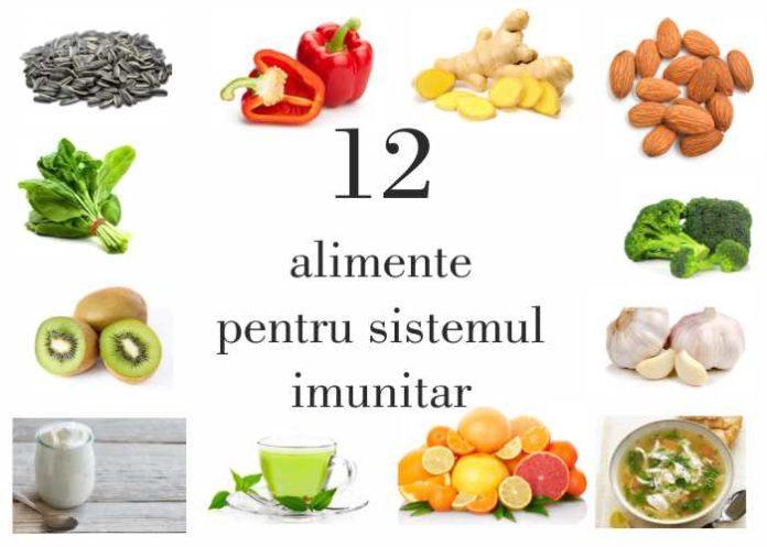 12 alimente pentru sistemul imunitar