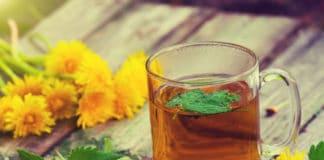 ceai de papadie cana si flori