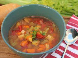 supa de legume pentru post alimentar