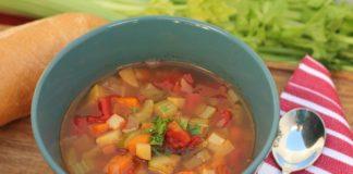 postul alimentar supa de legume