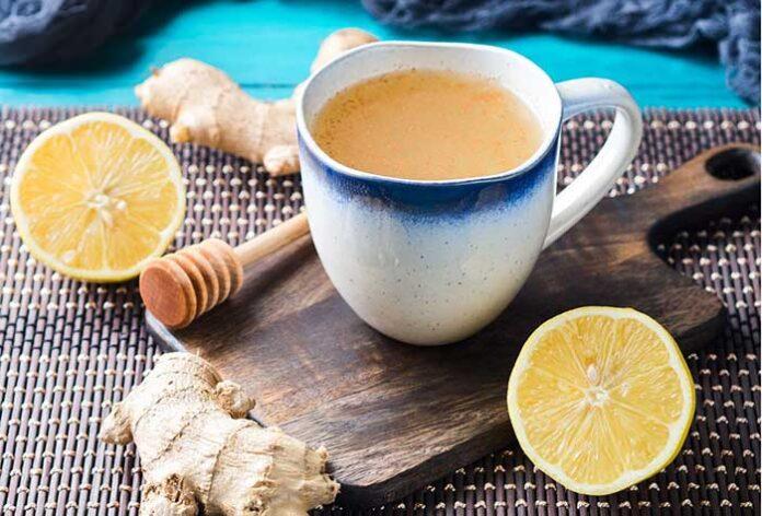 ceai de ghimbir cu lamaie